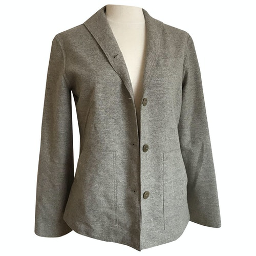 Bensimon Grey Wool Jacket