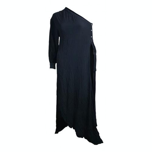 Rosetta Getty Black Dress