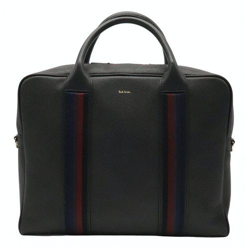 Paul Smith Black Leather Handbag