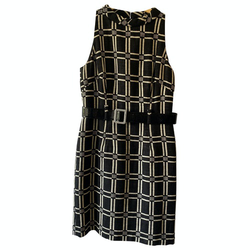 Milly Black Linen Dress
