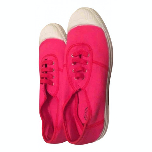 Bensimon Pink Cloth Trainers