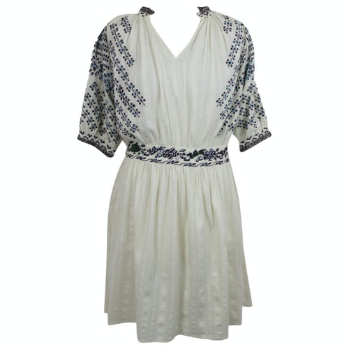 Vanessa Bruno Ecru Cotton Dress