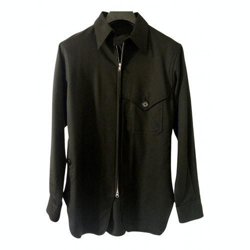 Y's Black Wool Jacket