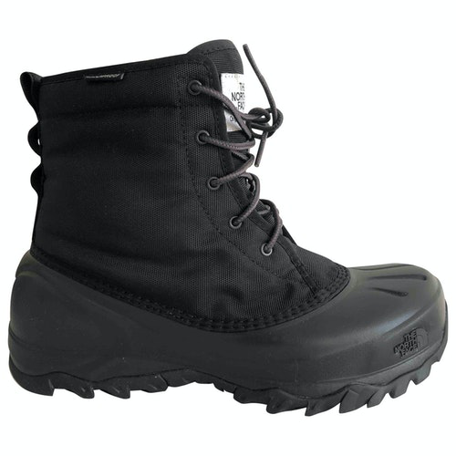 The North Face Black Cloth Boots