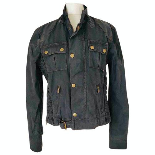 Belstaff Blue Cotton Jacket