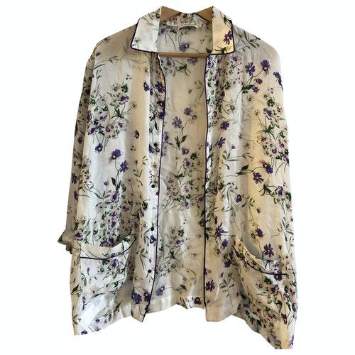 Roseanna White Cotton Jacket