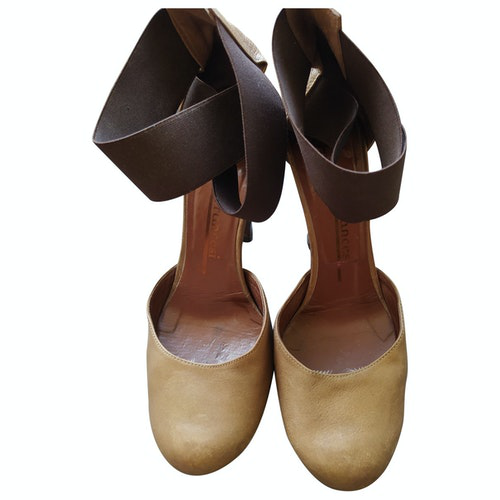 Fiorifrancesi Brown Leather Heels
