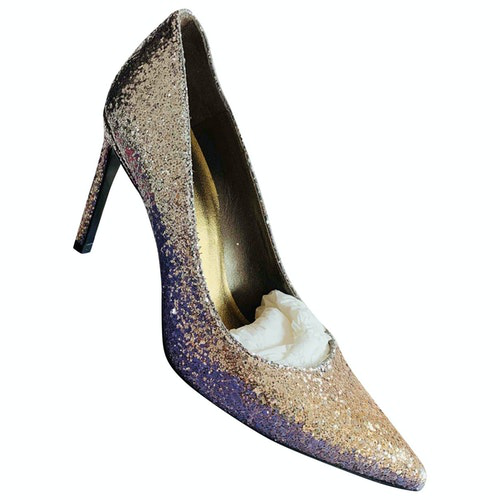 Stuart Weitzman Metallic Exotic Leathers Heels