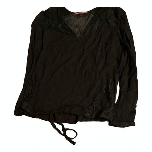 Comptoir Des Cotonniers Black Cotton Dress
