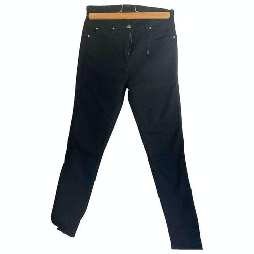 Belstaff Black Cotton - Elasthane Jeans