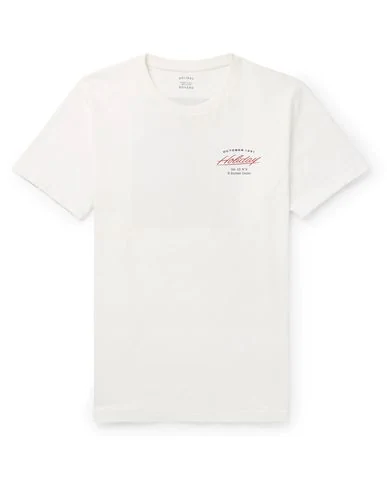 Holiday Boileau T-shirt In White