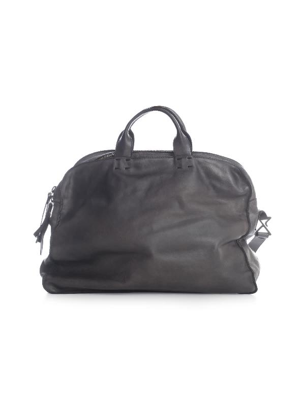 Numero 10 Bufalo Briefcase W/big Handle In Iron