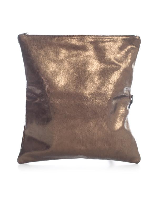 Numero 10 Lurex Pochette In Copper