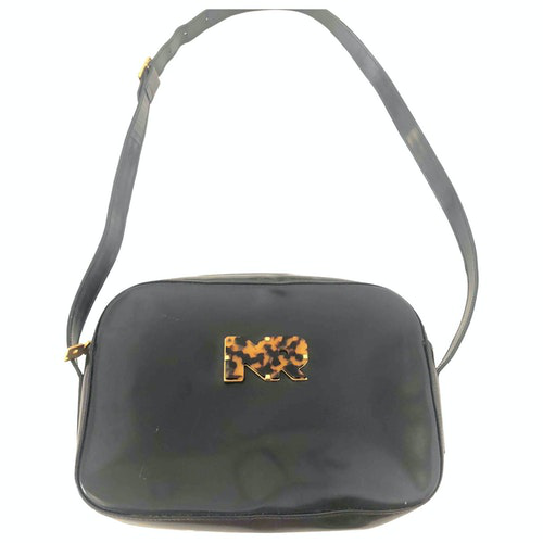 Nina Ricci Black Cloth Handbag
