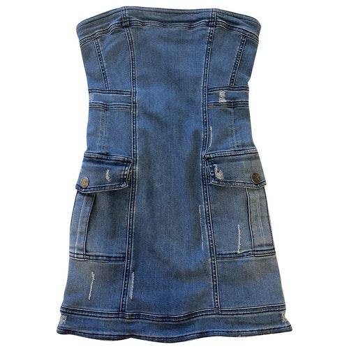 Pierre Balmain Blue Denim - Jeans Dress