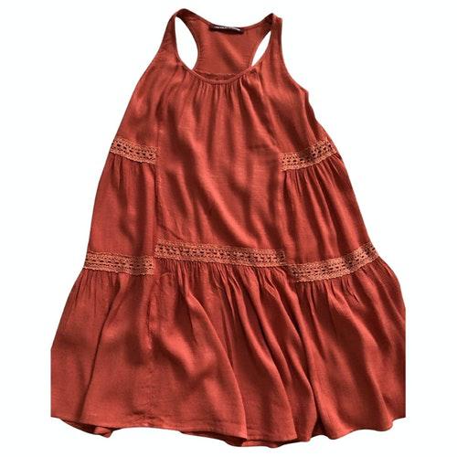 Comptoir Des Cotonniers Orange Dress