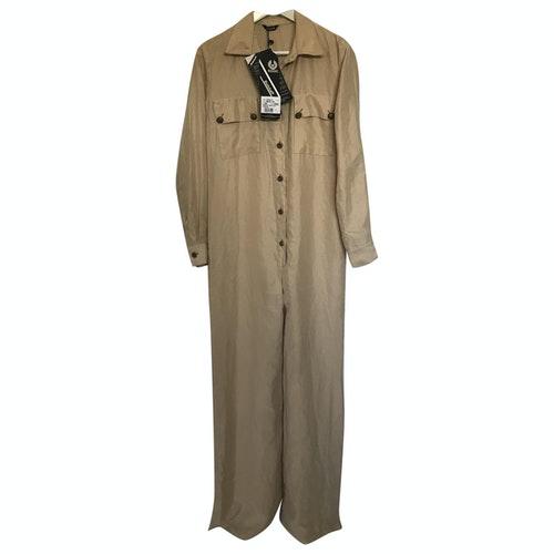 Belstaff Camel Silk Jumpsuit