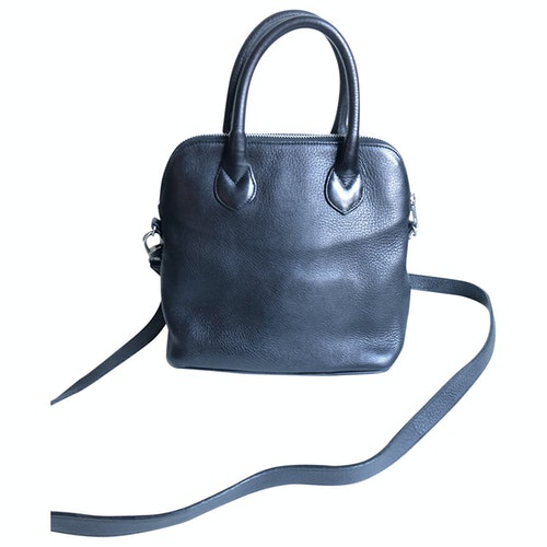 Robert Clergerie Black Leather Handbag