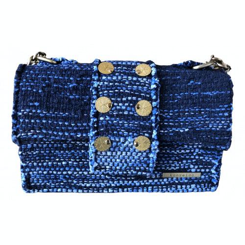 Kooreloo Blue Cotton Handbag