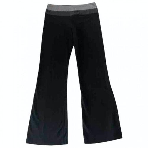 Lululemon Black Cotton Trousers