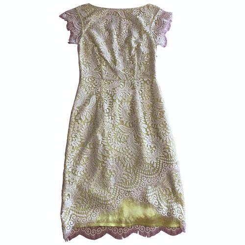 Pinko Ecru Lace Dress