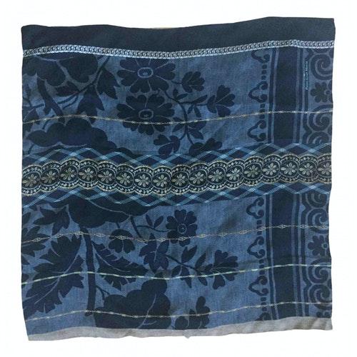 Pierre-louis Mascia Grey Silk Silk Handkerchief