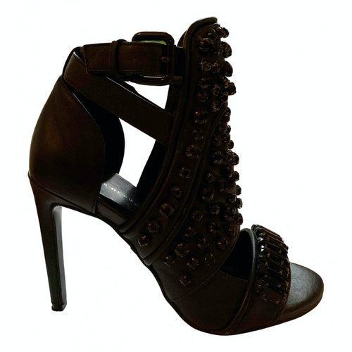 Tiger Of Sweden Black Leather Heels