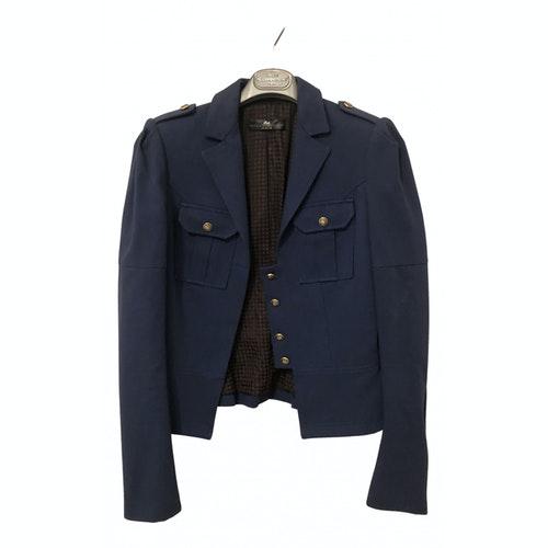 Daniele Alessandrini Blue Cotton Jacket