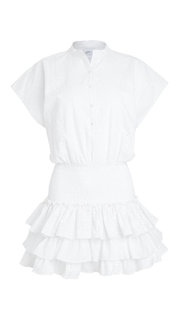 Misa Eloisa Dress In White