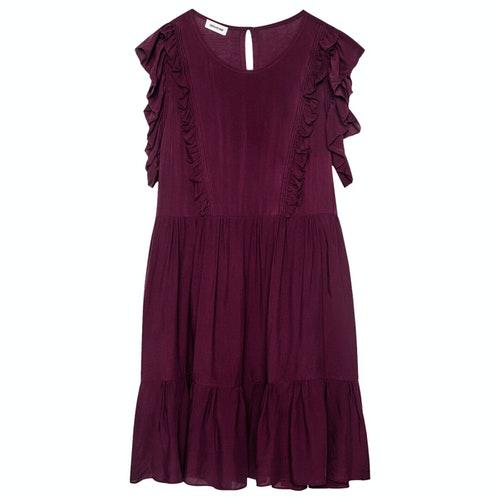 Zadig & Voltaire Fall Winter 2019 Burgundy Dress
