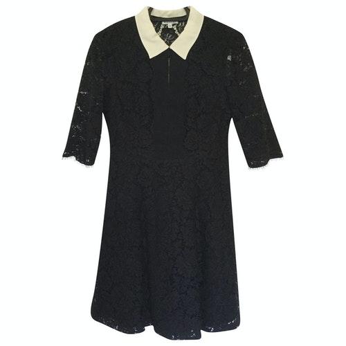 Claudie Pierlot Black Lace Dress