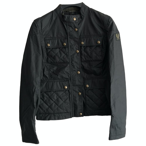Belstaff Black Cotton Jacket