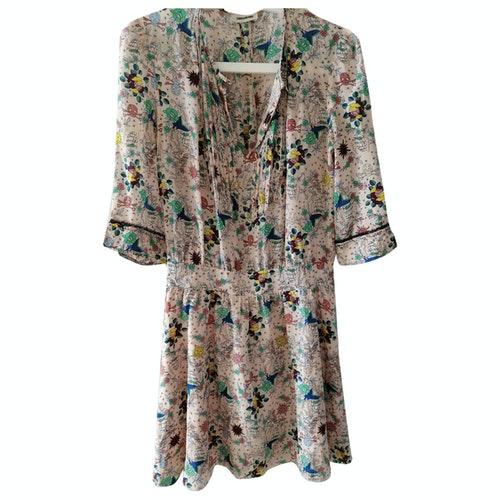 Zadig & Voltaire Spring Summer 2019 Multicolour Silk Dress
