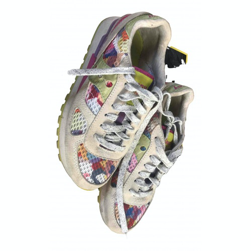 Saucony Multicolour Leather Trainers