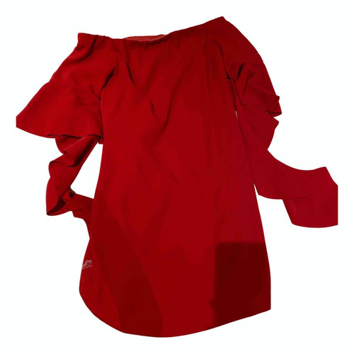 Pinko Red Cotton Dress