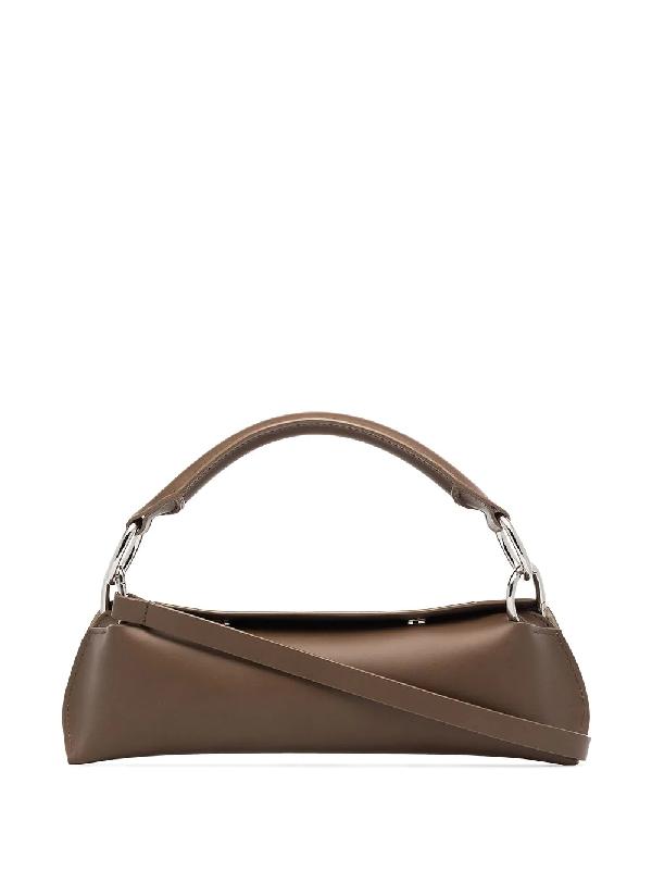 Venczel Brown Elan Leather Shoulder Bag