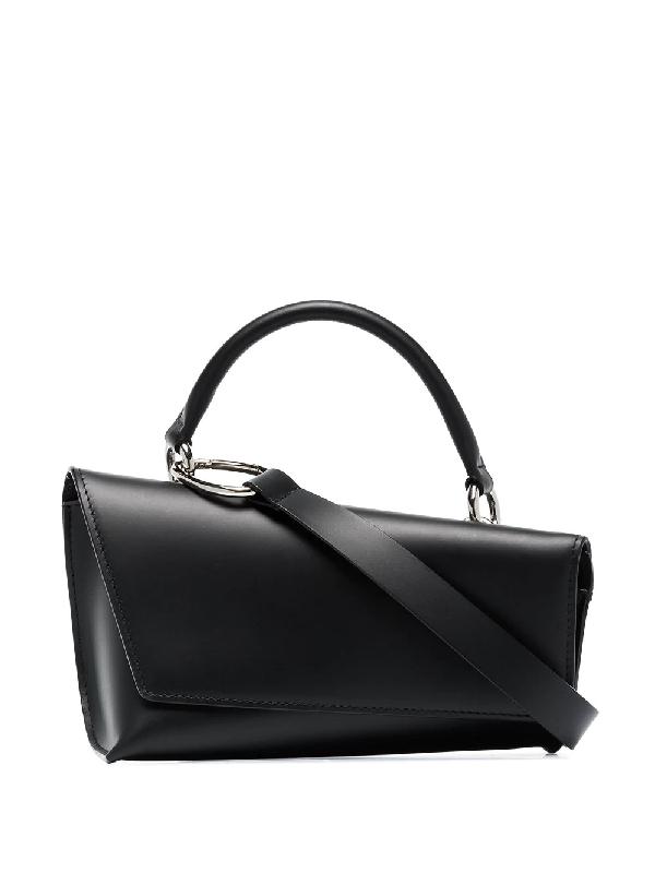 Venczel Black Vx-s Leather Shoulder Bag