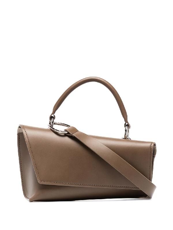 Venczel Brown Vx-s Leather Shoulder Bag