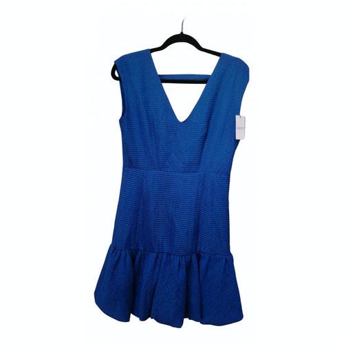 Claudie Pierlot Blue Cotton Dress