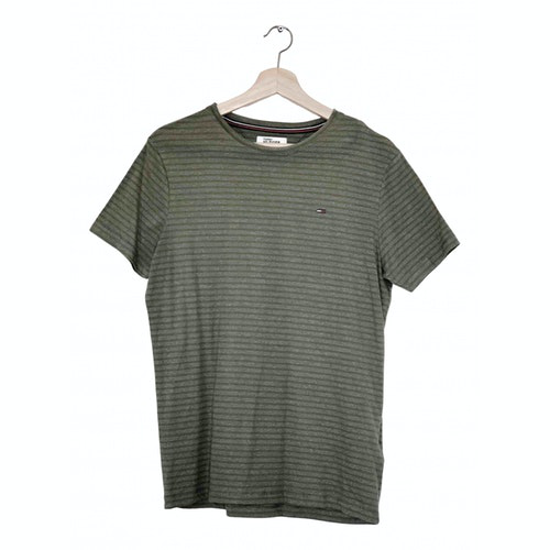Tommy Hilfiger Green Cotton T-shirts