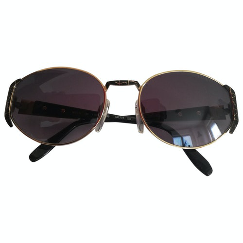 Silhouette Gold Metal Sunglasses
