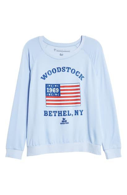 Prince Peter Woodstock Bethel Ny Sweatshirt In Light Blue