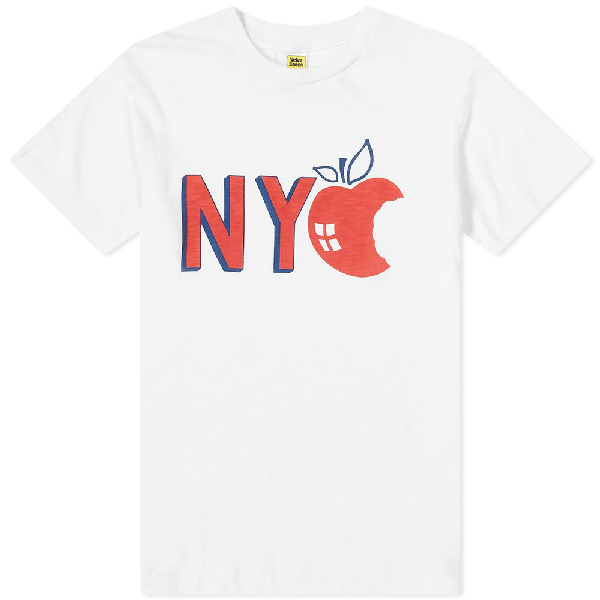 Velva Sheen Nyc Tee In White