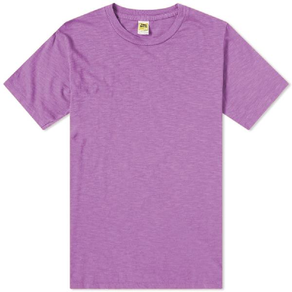 Velva Sheen Regular Tee In Purple