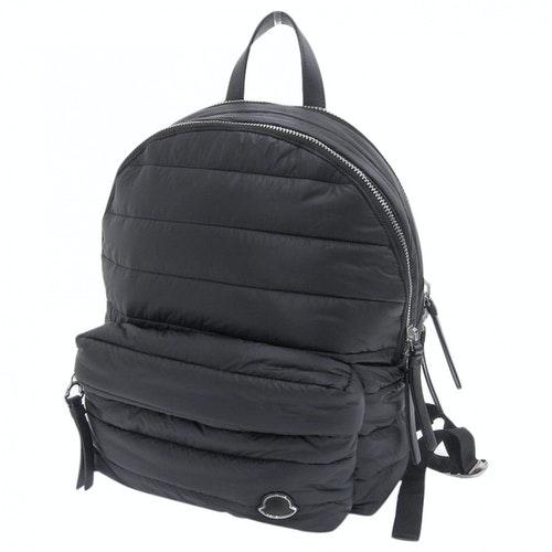 Moncler Black Backpack