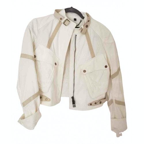 Belstaff White Cotton Jacket