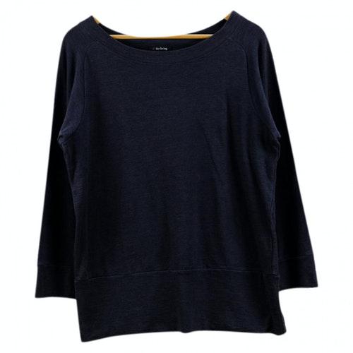 Y's Black Cotton Knitwear & Sweatshirts