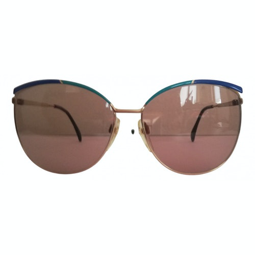 Silhouette Multicolour Metal Sunglasses