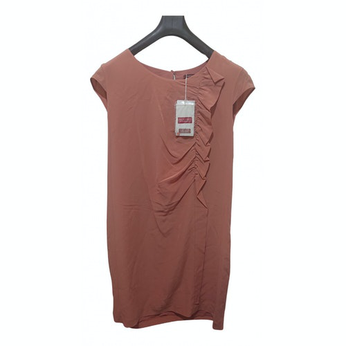 Comptoir Des Cotonniers Pink Silk Dress