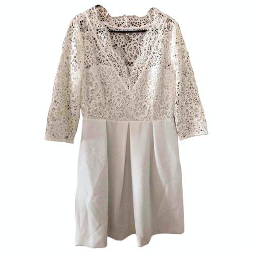Claudie Pierlot White Cotton Dress